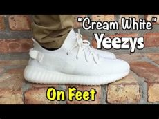 yeezy cream white on feet girl adidas yeezy 350 boost v2 quot white quot on