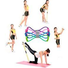 ejercicios para abdomen con ligas de resistencia ligas resistencia ejercicio brazo pierna elasticas 180 00 en mercado libre