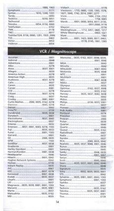 rcr504br codigos rca rcr504br universal remote codes check views