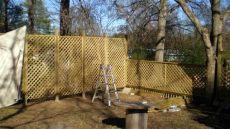 55 lattice fence design ideas pictures popular types designing idea - Installing Lattice Fence Panels