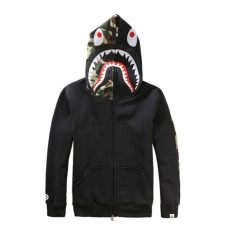 bape hoodie japan price bape japan unisex s shark zip hoodie sweater camo coat jacket ebay
