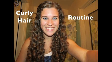 curly hair styling routine 2012 wash youtube