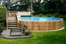 above ground pool wooden deck kits 44 pervect wood pool decks for above ground pool ideas medenc 233 k udvar 233 s h 225 zak