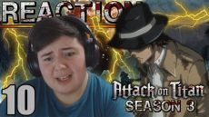 attack on titan season 3 episode 10 full episode dailymotion attack on titan season 3 episode 10 sub reaction length