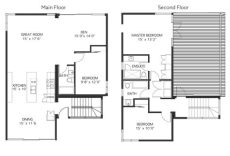 one storey house with roof deck floor plan 2 storey with roof deck linq developments