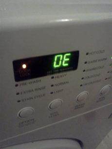 lg washing machine error code oe - Error Oe Lavasecadora Lg