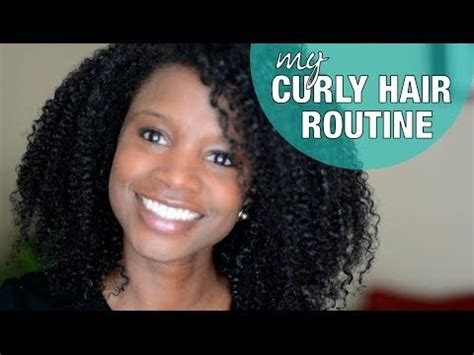 curly hair routine nik scott youtube
