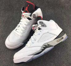 jordan 5 white cement 2017 air 5 white cement preview sneakernews
