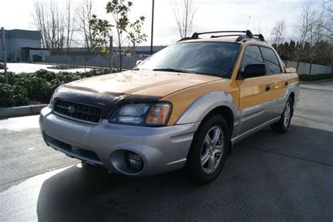 purchase 2003 subaru baja sport snug top key