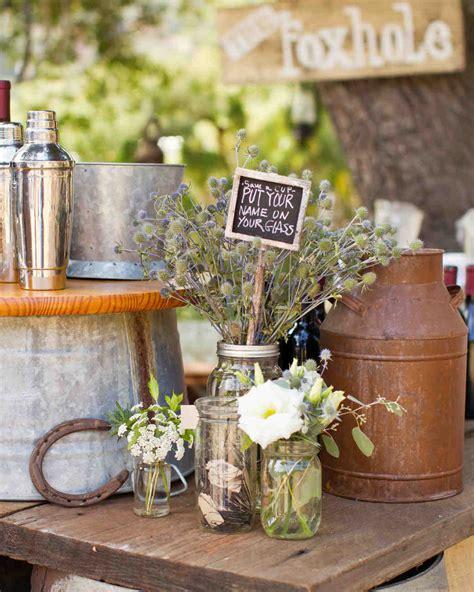 vintage diy rustic wedding ranch california martha stewart