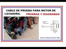 c 243 mo probar motor de lavadora cable de pruebas diagramas y conexi 243 n - Como Probar Un Motor De Lavadora Whirlpool De 6 Cables