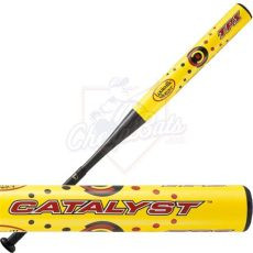 louisville slugger catalyst softball 2012 louisville slugger catalyst slowpitch softball bat balanced sb105b