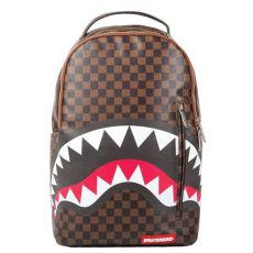 sprayground sharks in backpack brown brown backpacks bags - Supreme Bape Sprayground Backpack