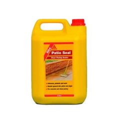 sika paver sealer concrete patio seal path sealer paving sealant clear paving 5 litre sika ebay