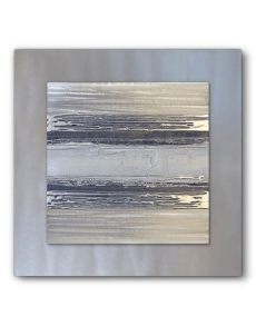 silver metal wall art uk contemporary square silver grey ii silver wall contemporary uk