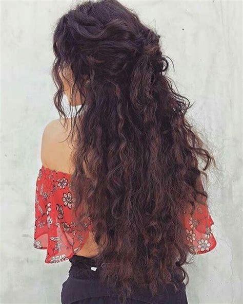 11 cute long curly hairstyles beautiful women curly