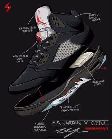 air jordan 5 black metallic 1990 air 5 black metallic silver 1990 housakicks