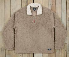 appalachian pile sherpa pullover southern marsh collection sherpa pullover appalachian pile fleece