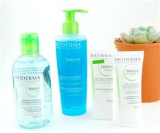 bioderma for combination skin bioderma s 233 bium skincare for blemished skin swatch and review