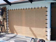 astroguard hurricane fabric installation astroguard hurricane fabric west shore construction