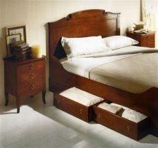 083 cama con cajones abajo en cerezo cama con cajones camas con cajones abajo camas - Camas Matrimoniales Con Cajones Abajo