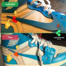 off white jordan 1 unc legit check vs real white air 1 unc blue guide legit check by ch