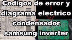 codigos de error sii codigos de error y diagrama electrico samsung inverter