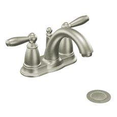 moen shoo faucet moen 6610bn brantford two handle centerset lavatory faucet brushed nickel faucetdepot