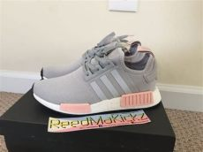 adidas nmd r1 grey gray light onix vapour pink offspring womens sizes by3058 ebay - Nmd Vapour Grey Womens