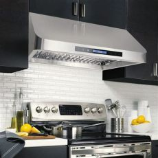 quietest range hood fans 30 in cabinet range cosmo appliances cos qs75
