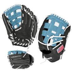 worth liberty glove 13 buy worth liberty advanced 13 quot la130bh slowpitch softball glove gray columbia white in