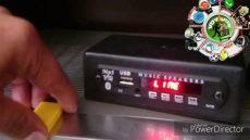 lector usb para equipo de sonido adaptador lector usb micro sd bluethoot y fm para equipos de sonido viejos