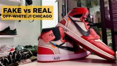 real vs white 1 chicago legit check - Jordan 1 Chicago Off White Legit Check