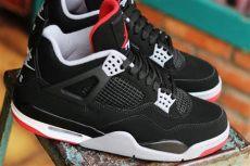 nike air 4 bred black 2019 release date sneakerfiles - Air Jordan 4 Bred 2019 Release Date