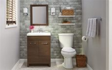 toilets small spaces home depot 8 small bathroom design ideas the home depot