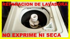 lavadora whirlpool no exprime no seca - Mi Lavadora Samsung No Exprime