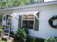 window awning plans yawning your awning diy awnings on the cheap home fixated