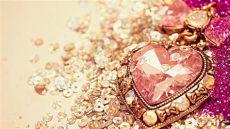 glitter rose gold heart wallpaper gold glitter desktop wallpapers top free gold glitter desktop backgrounds