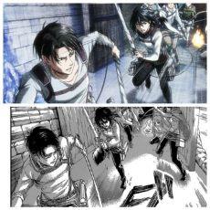 attack on titan season 3 levi vs mikasa levi and mikasa anime manga aot season 3 attack on titan anime anime vs anime