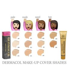 dermacol foundation shades for indian skin dermacol make up cover foundation 30g shade 211 buy dermacol make up cover foundation 30g