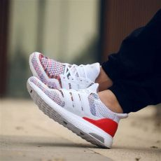 adidas ultra boost 40 white multicolor on feet adidas ultra boost multicolor white sneaker bar detroit
