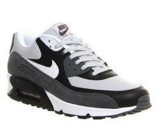 nike air max 90 branco replica mens nike sportswear air max 90 sports shoes grey mist white black essential sale uk