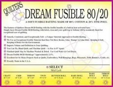 quilters dream 80 20 batting quilters fusible blend 80 20 cotton poly batting baby bolt 46 quot x 15 yds ebay