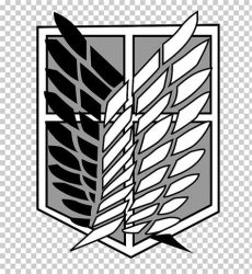 attack on titan logo black and white wings of freedom clipart 10 free cliparts images on clipground 2020