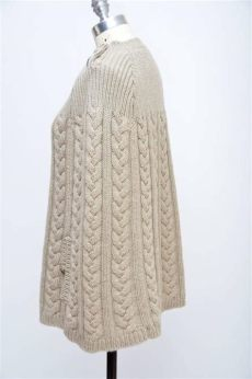 louis vuitton poncho cape louis vuitton wool cape cable knit poncho mint size m for sale at 1stdibs