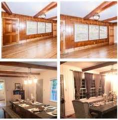 outdated paneled walls fabulous space http betterafter 2012