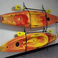 easy ways to hang kayak in garage nrs kayak hanger diy kayak storage kayak hanger kayak storage