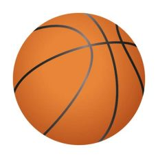 balon de basquetbol animado png vinilo decorativo bal 243 n de baloncesto comprar ahora