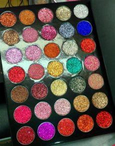 paleta de glitters kara paleta kara 17 paleta sombra kara sombras kara glitter 550 00 en mercado libre