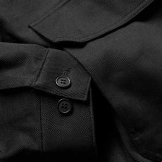 fred perry x raf simons oversized jacket fred perry x raf simons detail jacket black end